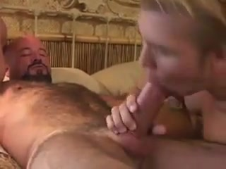 Gay bear with his lover sucking his dick and getting his ass hot girl strips all the way