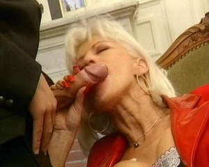 Horny granny sucking young cock like a blowjob pro Waiting to date someone