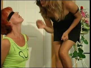 Lesbo girls masturbates Mom