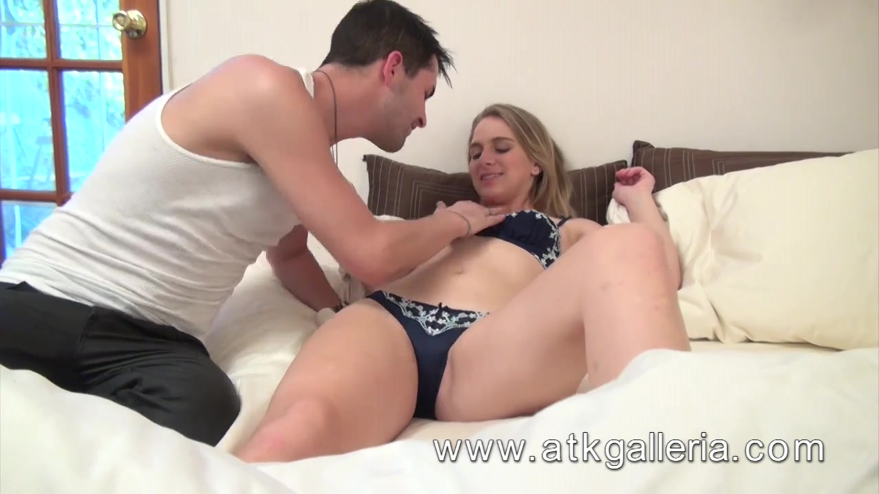 Sexy golden-haired Abbie Anderson acquires woken up for some ramrod.