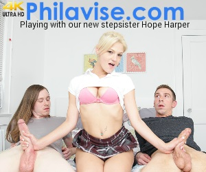 PHILAVISE-Stepsis plays with her two new bros Free never pay to meet sex hookups