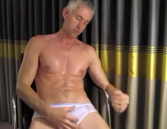 Muscular dad masturbating Blow job wmp