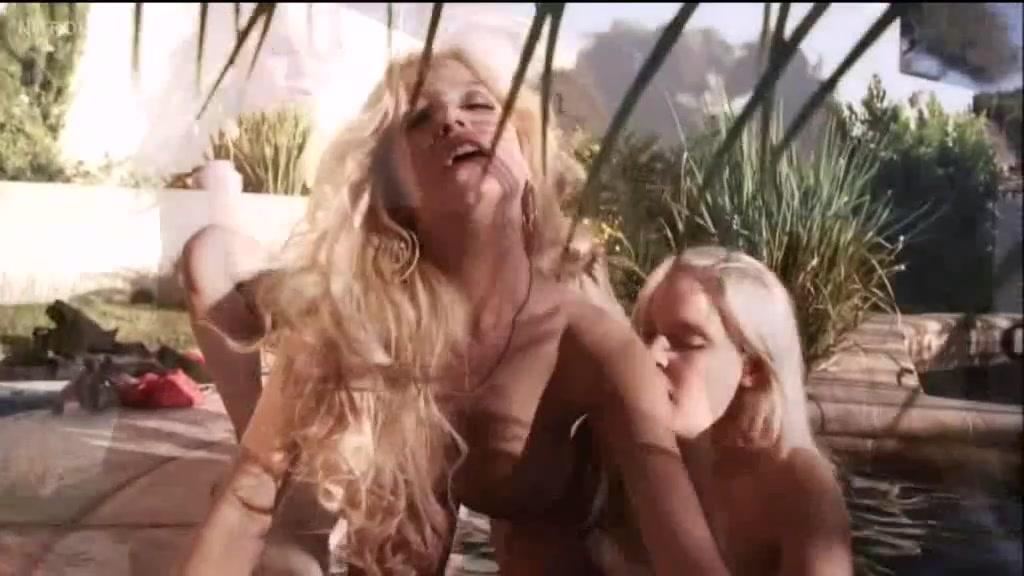 At mature women pool nude