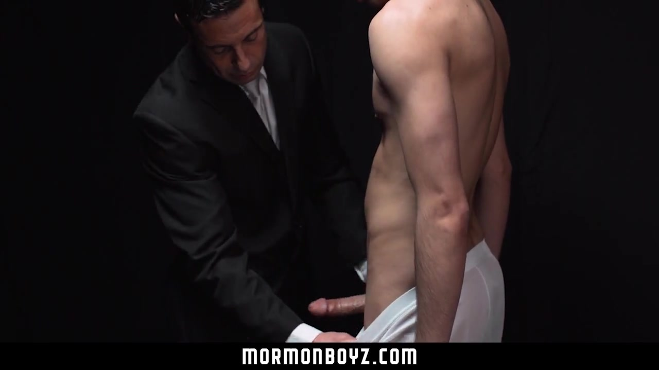 MormonBoyz - Young boy cums while being fucked Sexey pussy pic
