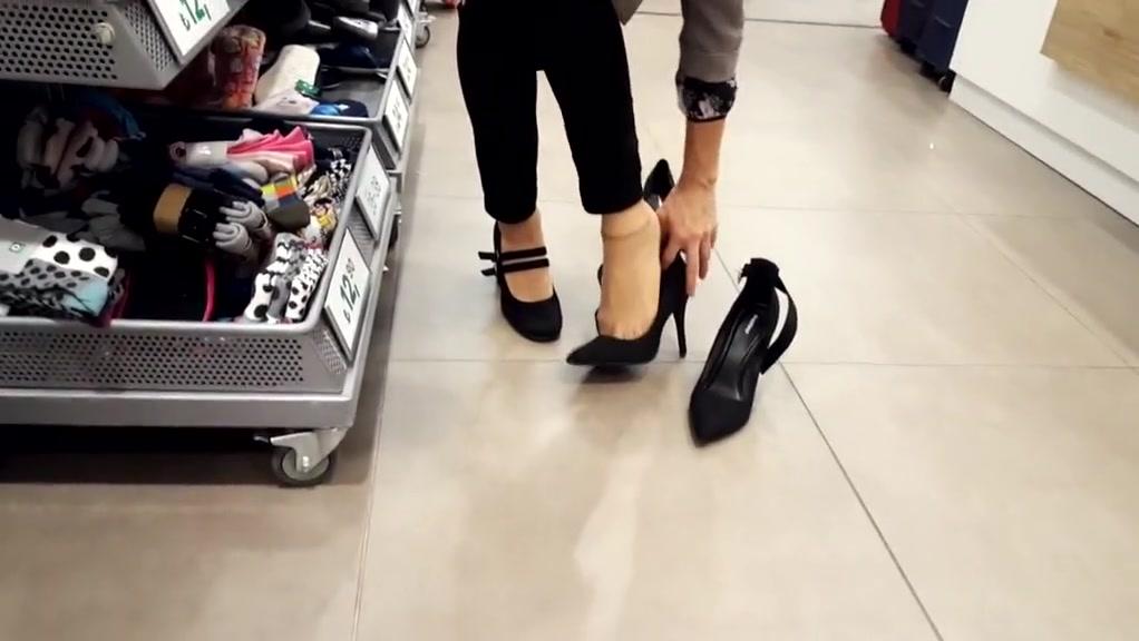 Shoe shopping w my fr her nylon feet walking english milf daniella nude