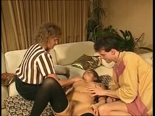 Dirty sex games in vintage old young fucking video party of sex nude dance