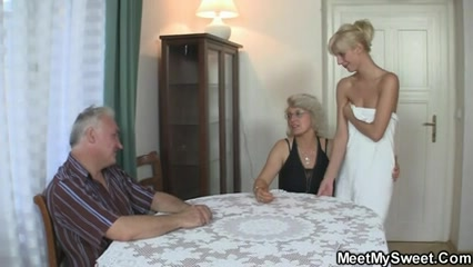 Sexy trio with her BFs parents Free bizarre fetish pics
