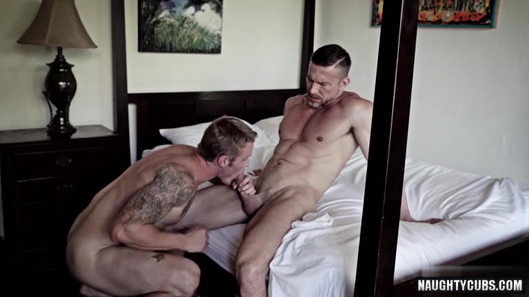 Tattoo daddy anal sex with facial cum gay sex info for virgins