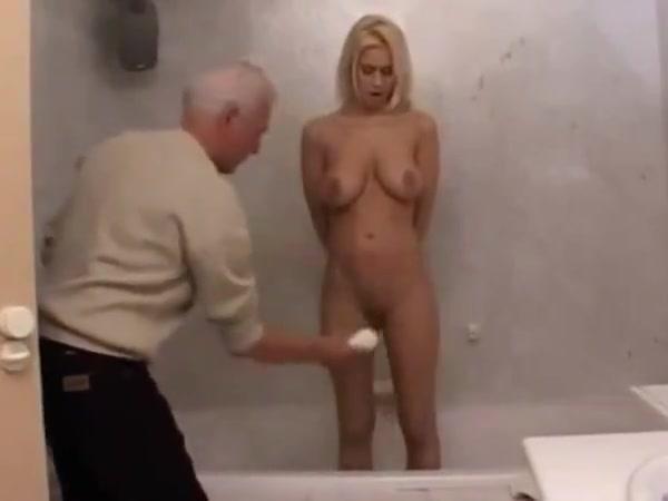 Grandpa Johan white tail nudist park