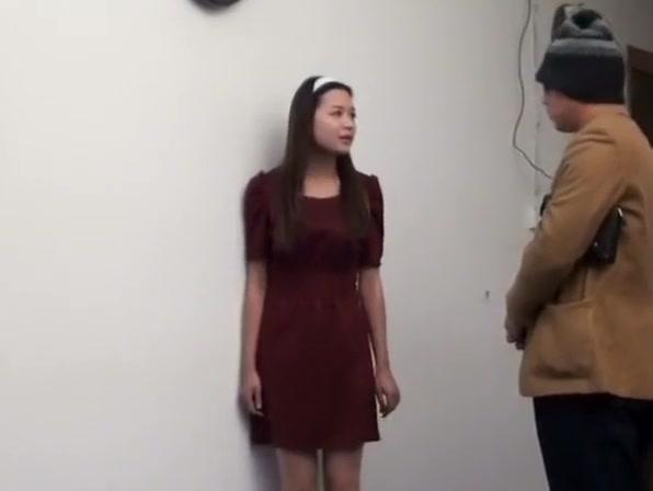 asian handcuffed then hogtied