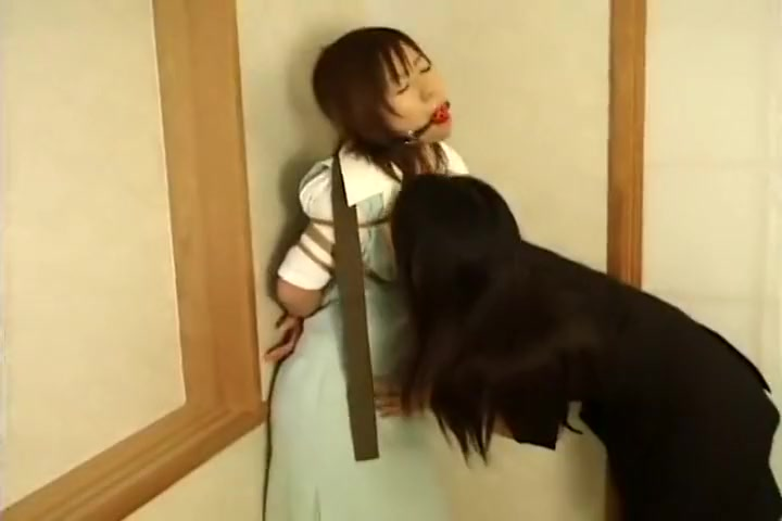 Licking Japanese lesbin pussy sluts