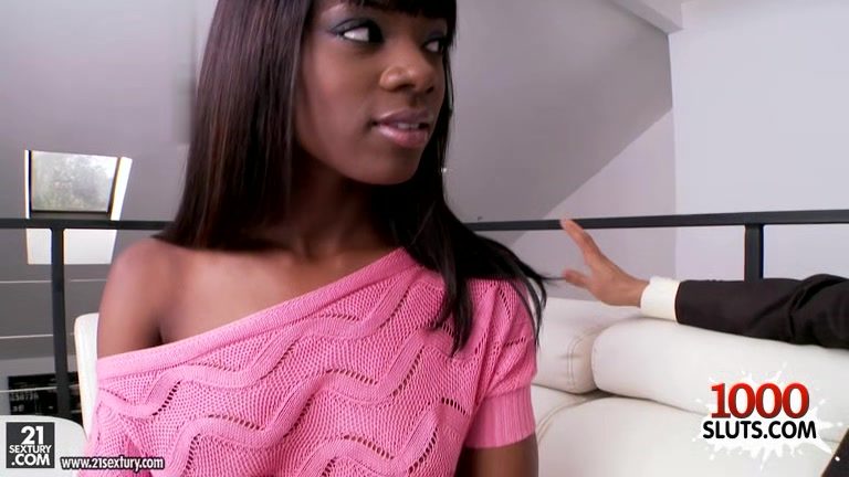 Brunette pornstar interracial with facial the boss is gay