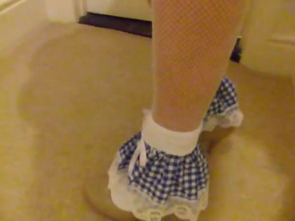 Alice in Blue and pvc panties Butt fucking free video pic