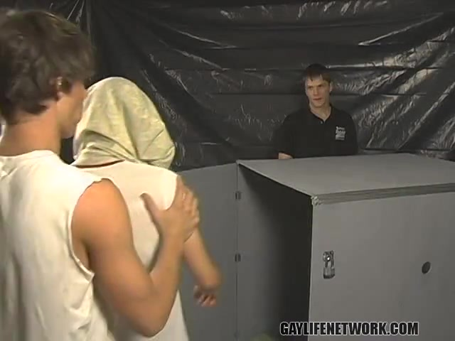 Alex, Blair, Dillon Kameron - Theres Only One Way Out of This Box... - TeachTwinks Www hidden cam xxx com