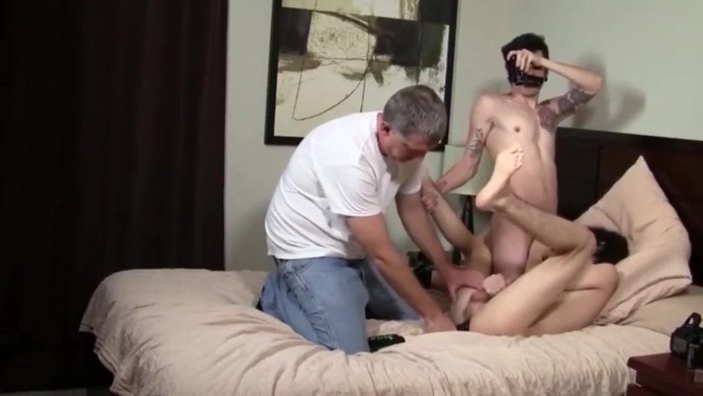 Uncle and Son Tag Team my first mouthful of cum