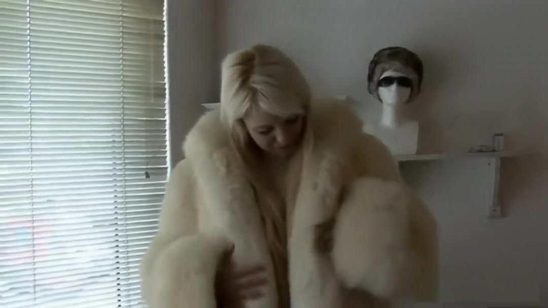 Blonde in furs plays with dildos Old man fucks teen slut