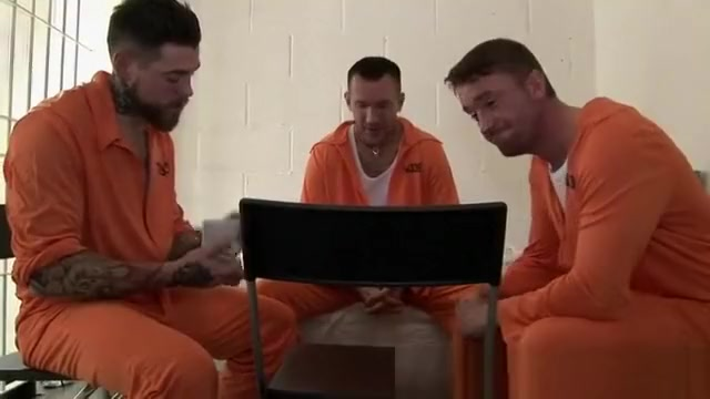 Prison gang bang with lots of juicy cock and cum for dirty blonde slut Free hustler account