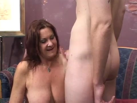 Cock hungry divorced French broad goes for young dick Layla indian cumshot
