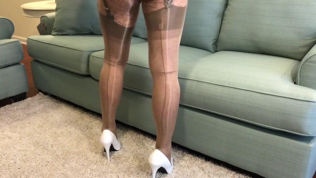 Nylon Layers Cum Shot adult porn home movies