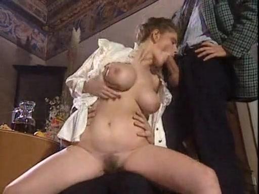 Dinner Table Pornucopia Nud women showing off big tits