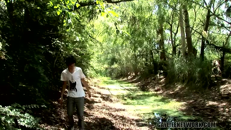 Horny Fucking In The Forest - Anibal And Julian - TeachTwinks Free Fuck Bus Vids