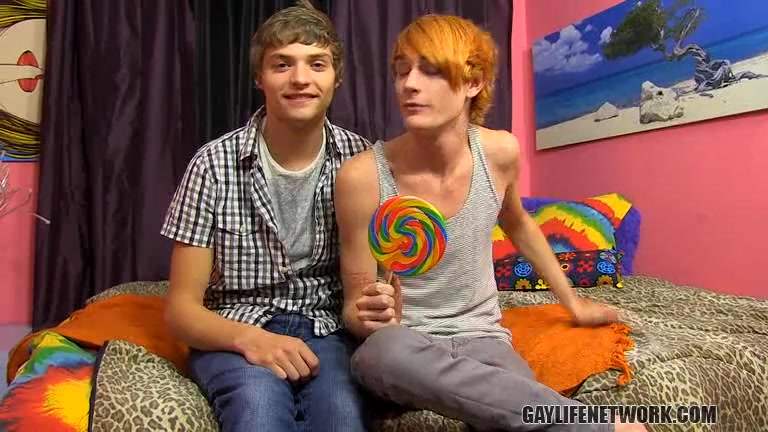 Blake Allen Preston Andrews - Happy 100th Scene, LollipopTwinks! - twinkylicious black skirt women naked piks