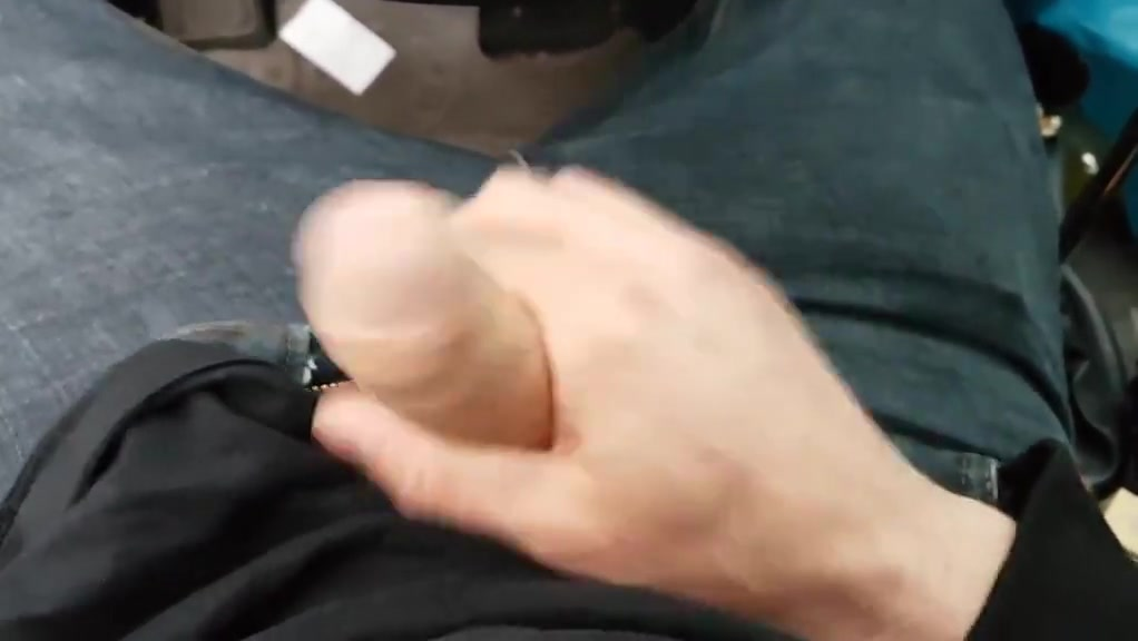 Flashing Dick in public and cum no match for big tits