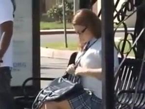 college girl Schoolgirl Groped and fucked in Bus - Natasha Nice diamond jackson interracial porn