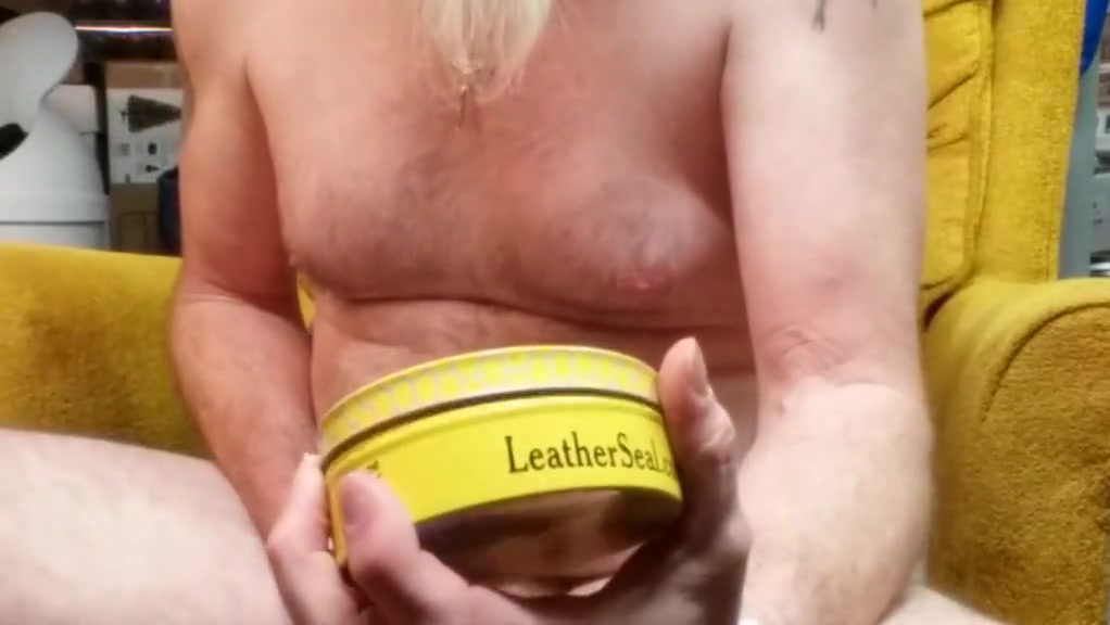 No. 9 new lube. leather conditioner lisa is a sexy blonde nude