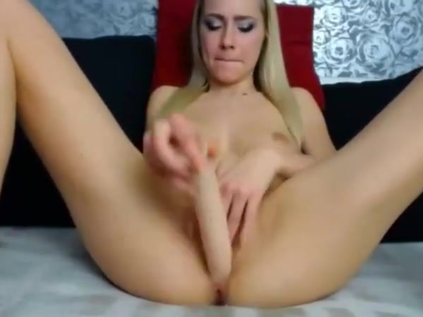 blonde webcam