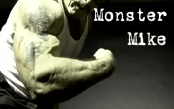 Monster Mike teens with milky breast