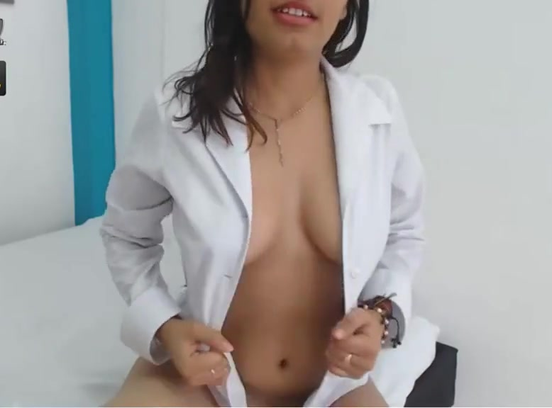 sexy latina with collar shirt up friends watching porn together naked