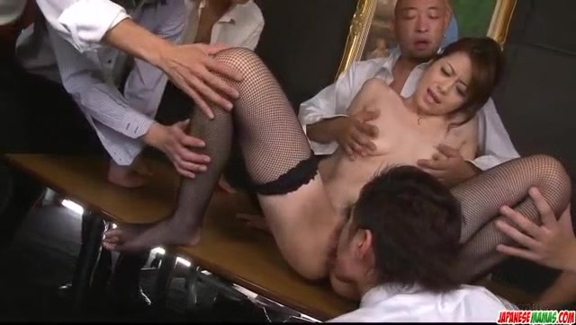 Maki Hojo leaves several males - More at Japanesemamas. Women naked bum pictures