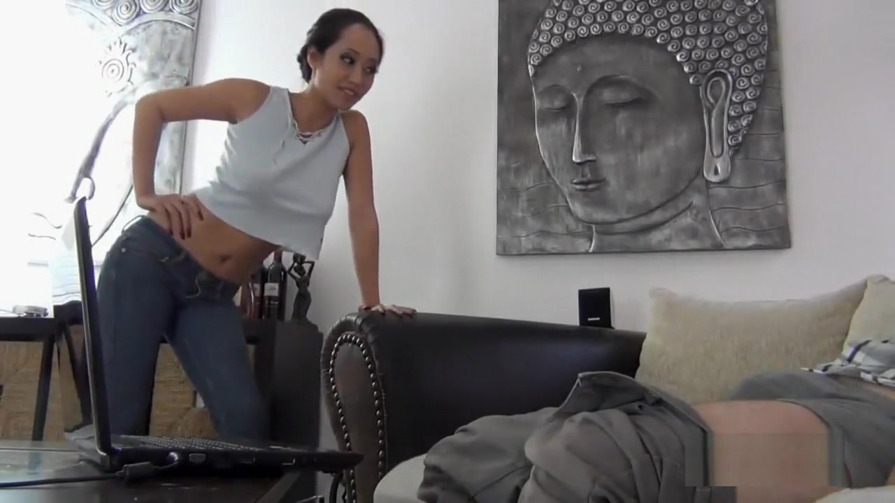 Asian girl gets fucked and facialized gia palomas anal glass toy