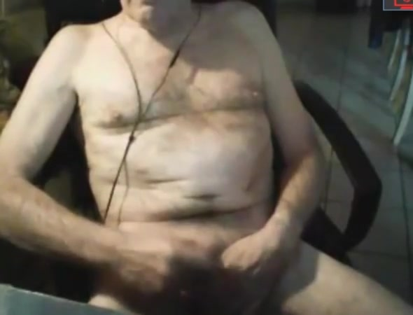 grandpa jerking off Home Made Video 005- Free Man Porn Video