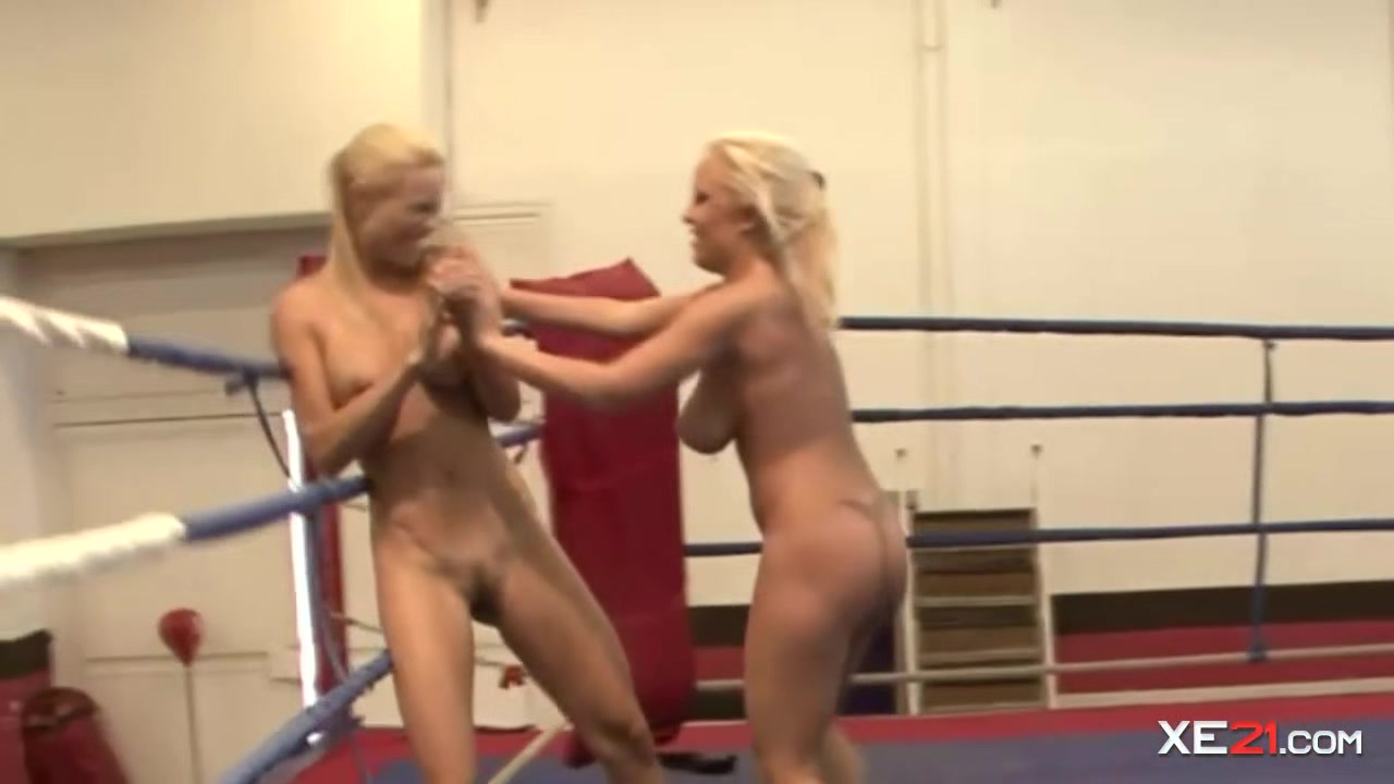 Two busty blondes are wrestling naked ngajarin adik ngentot bokep japanese