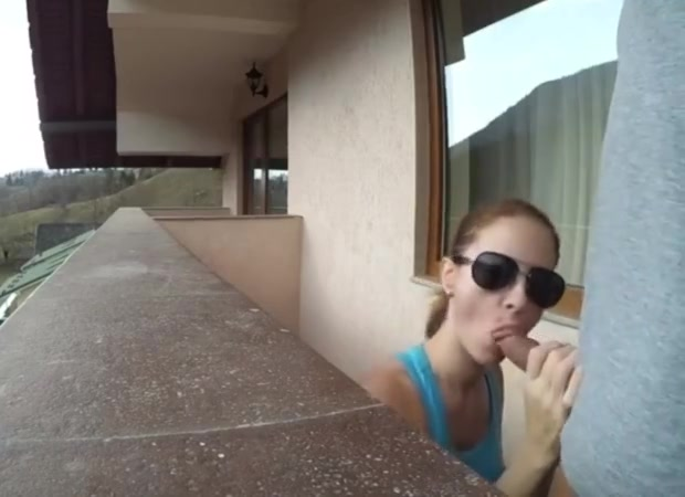 Amateur Quick Sex in the Balcony of a Hotel Room in Holiday M4m des moines