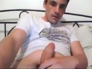 Sexy French Str8 Guy Shoots a Nice Load #154 nudist making love