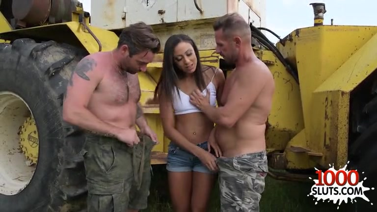 Brunette pornstar threesome and cum in mouth Sunset drive in theatre shelby nc