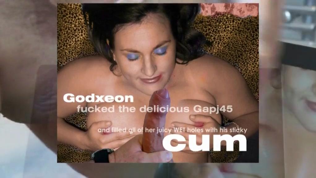 Multiple Cum Tribute to Gapj45 Blonde slut sex