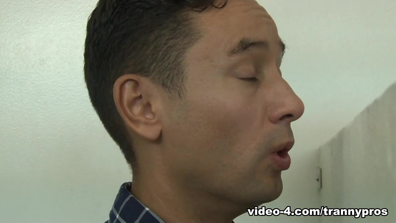 Gabriel DAlessandro in Tranny Glory Hole Surprise #03 - TrannyPros