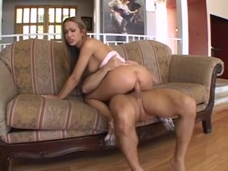 Hawt brun in heels gives head then acquires her ample arse screwed for spunk Threesome Fuck Outdoor