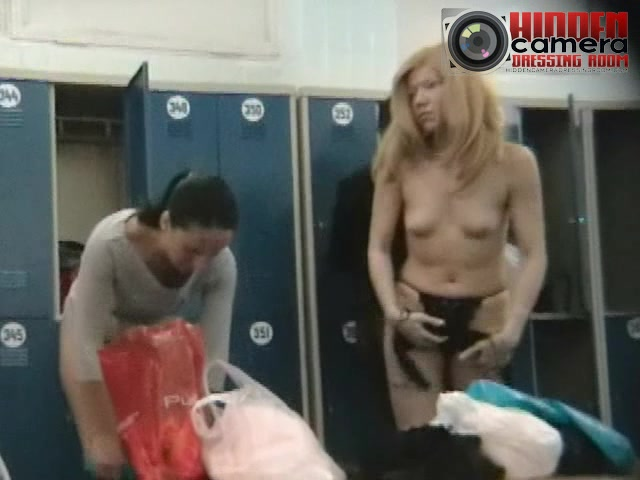 Two savoury babes getting dressed in a spy cam video Keiran Lee And His Servant