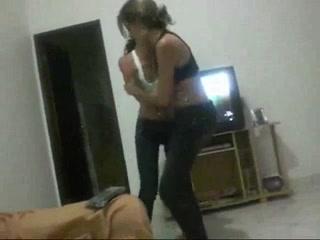 Webcam striptease Bbw