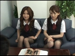 Japanese penis - 9(2 OL) Adorable lesbian teens toying at Home