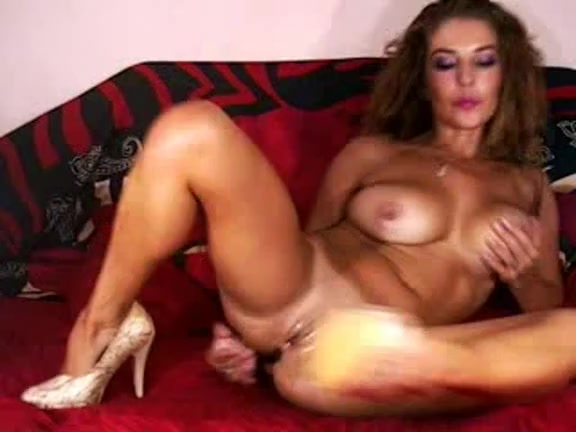 Kinky DP play with my handy sex toys Pussy eating juicy