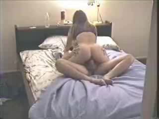 Great chick joined by her lover while masturbating Two british milfs enjoying cock