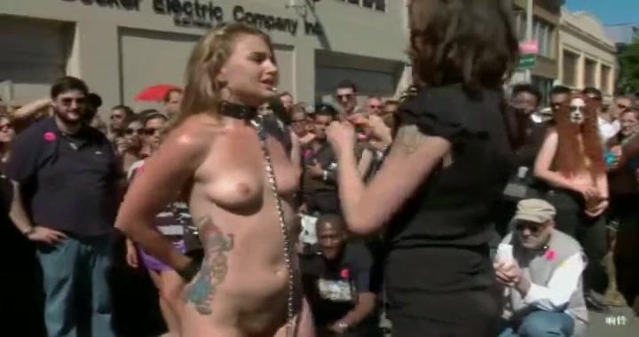 Folsom street floozy Jerk me off porn