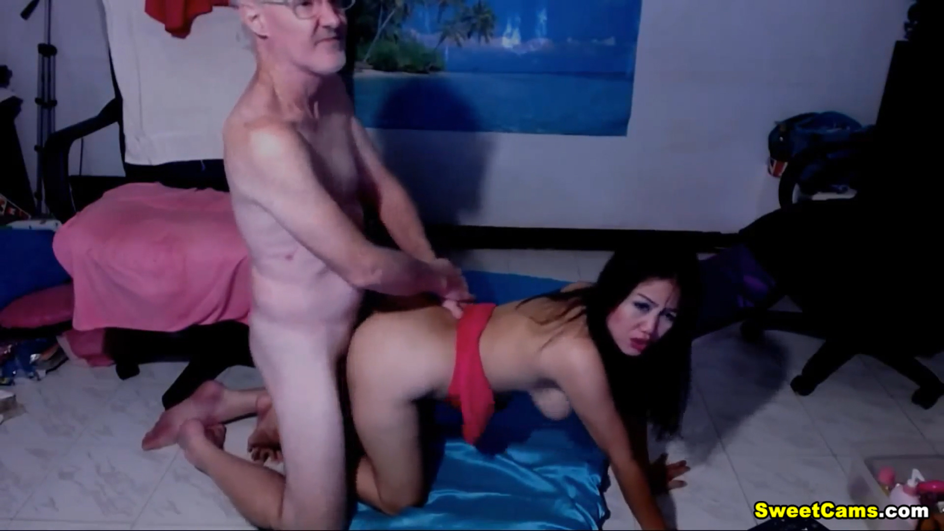 Horny Asian Hottie Fuck Hard By Lucky A Old Guy Honey michelle