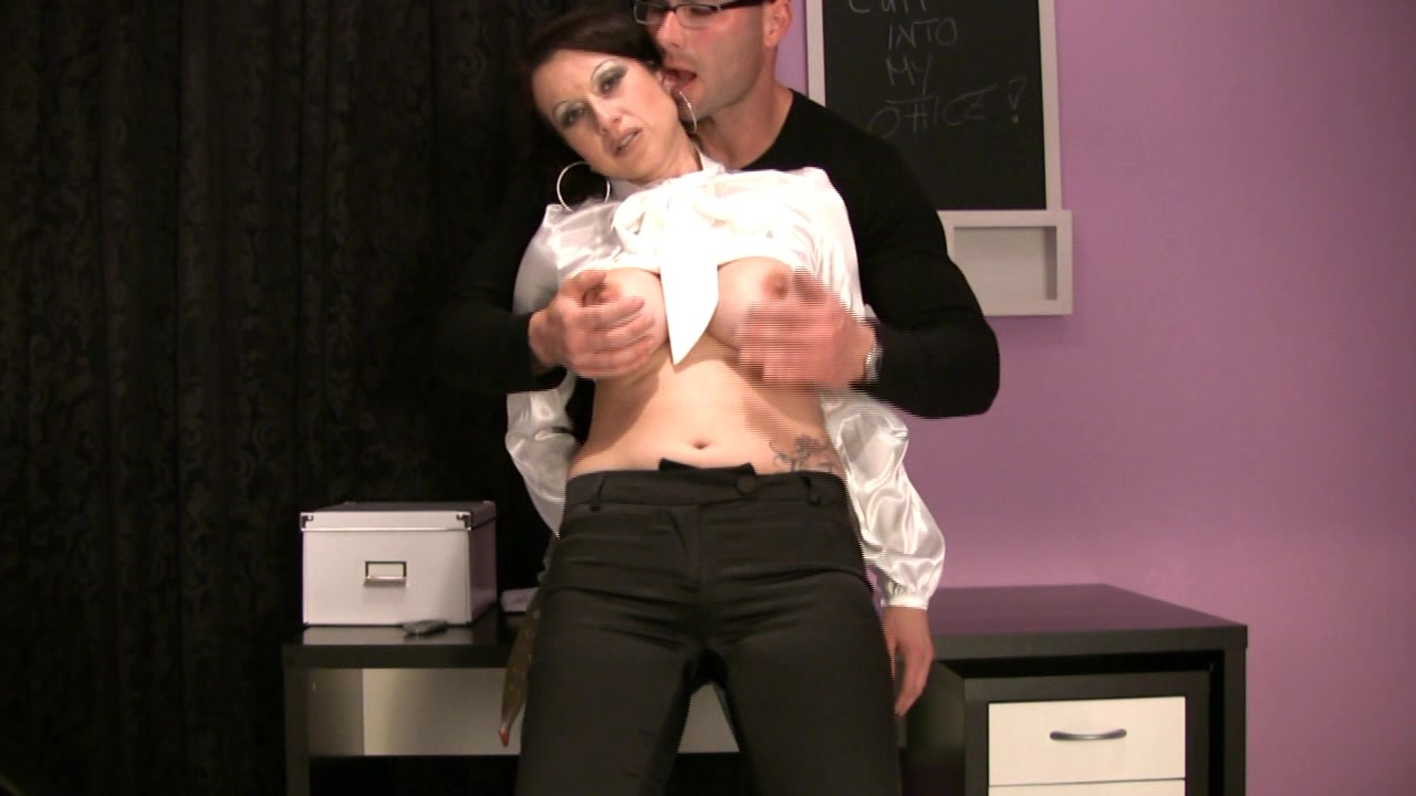 Trinity-Productions: Pant Wiht Blouse Hj young boy s first handjob